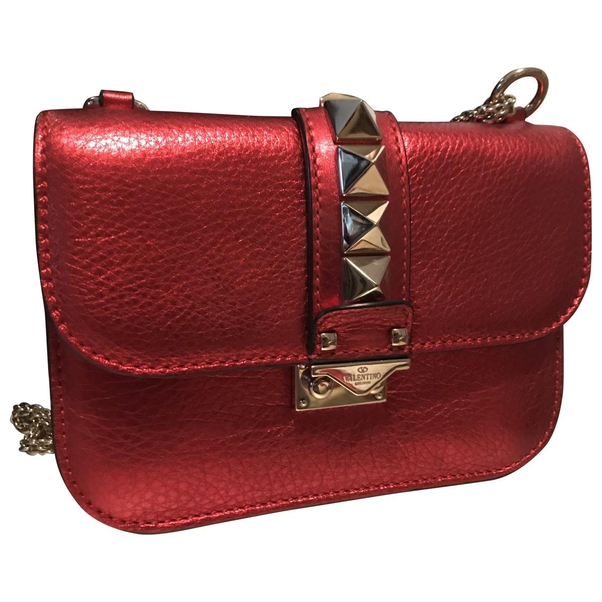 Valentino Garavani Glam Lock Leather Clutch bag for Women \N