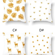 1pc Mixed Pattern Cushion Cover Without Filler