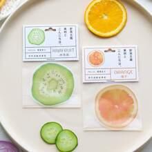2 Stuecke Obst formiger zufaelliger Aufkleber