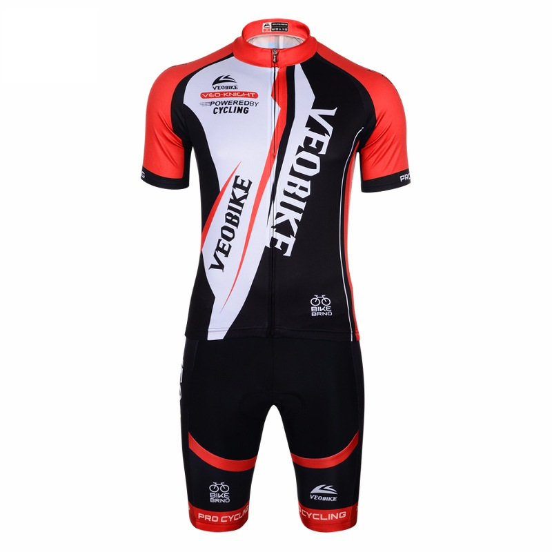 Black Cool 3D Padded Pants Comfortable Women's Cycling Jersey
