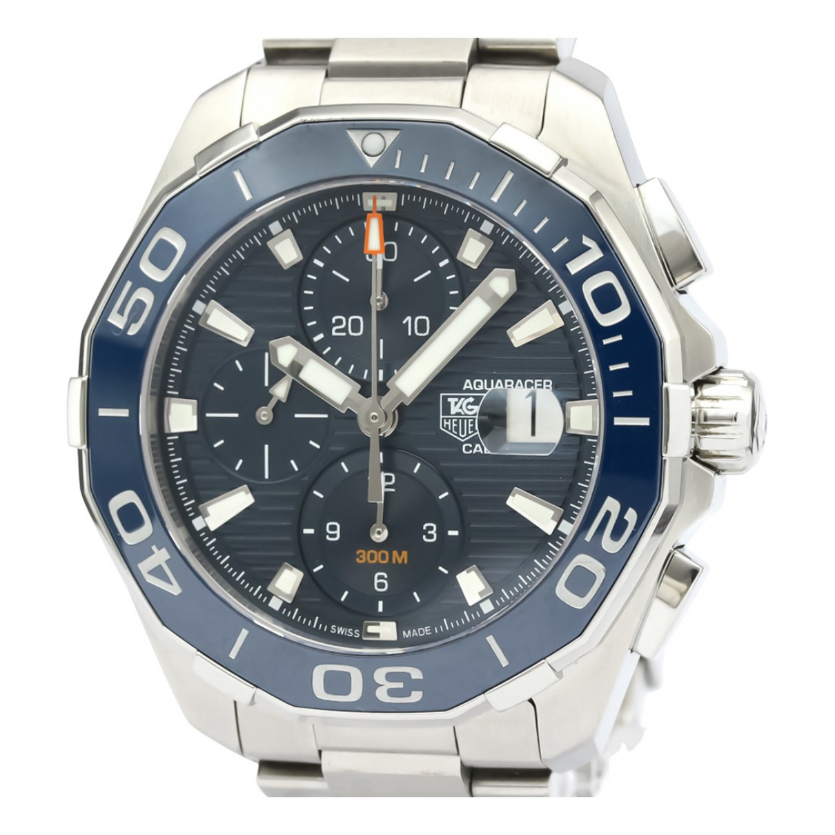 Tag Heuer Aquaracer  Blue Steel watch for Men N