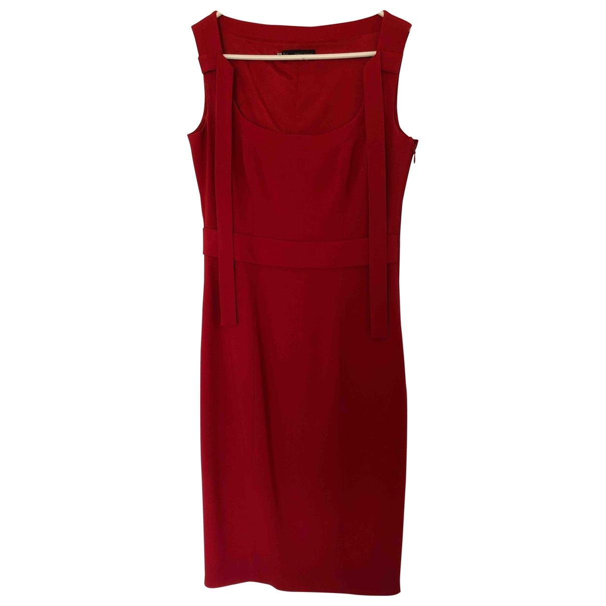 Dsquared2 - Robe   pour femme en laine - rouge