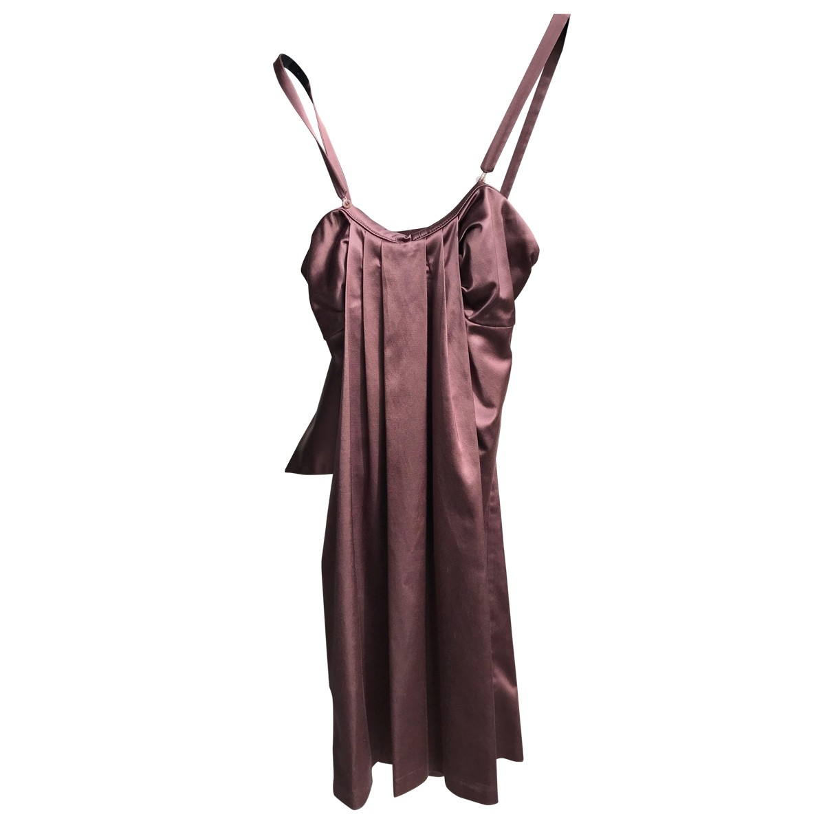 Pinko \N Pink Cotton dress for Women 40 IT