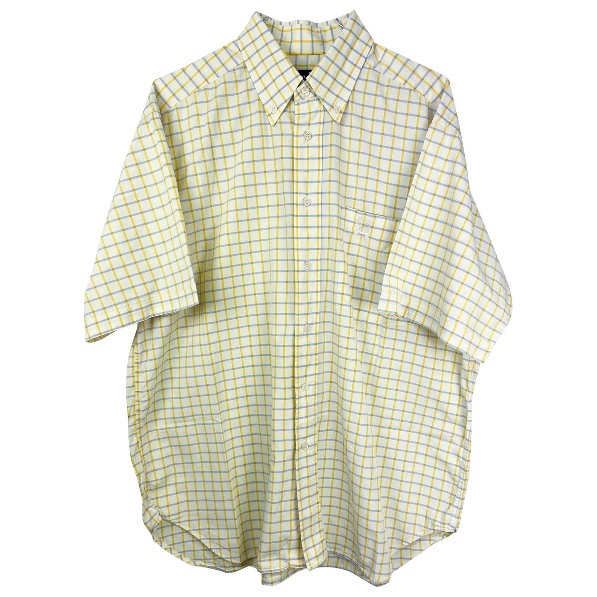 Dior Homme \N Yellow Cotton Shirts for Men M International
