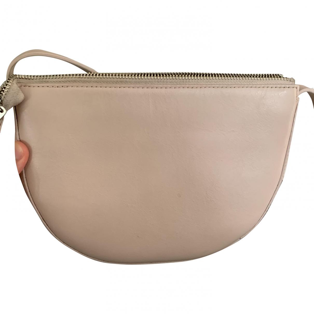 Jigsaw \N Handtasche in  Rosa Leder