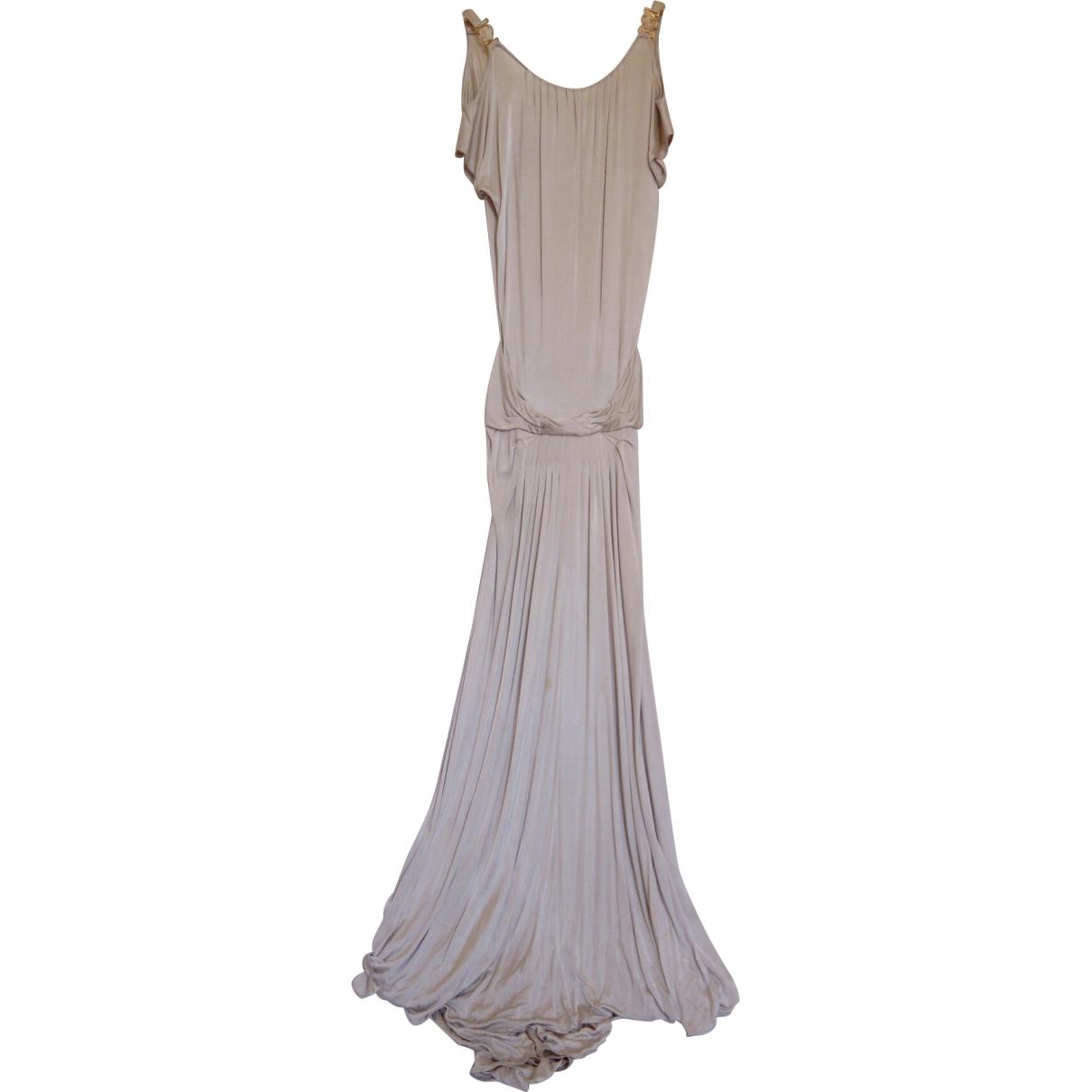 Versace \N Beige dress for Women 40 IT