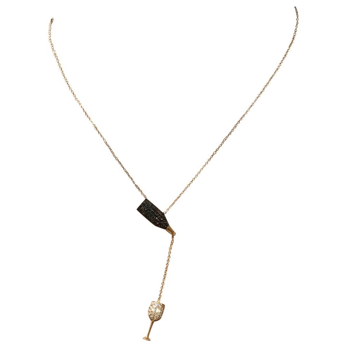 Collar de Oro rosa Non Signe / Unsigned
