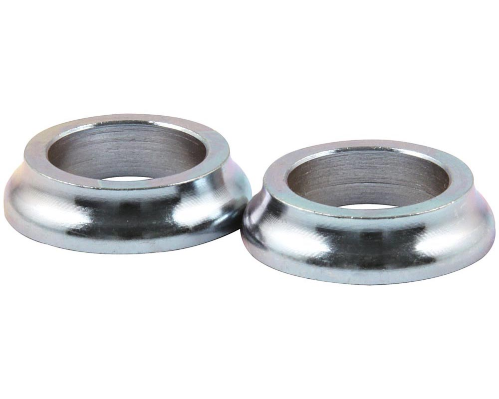 Allstar Performance ALL18580-10 Tapered Spacers Steel 5/8in ID x 1/4in Long ALL18580-10