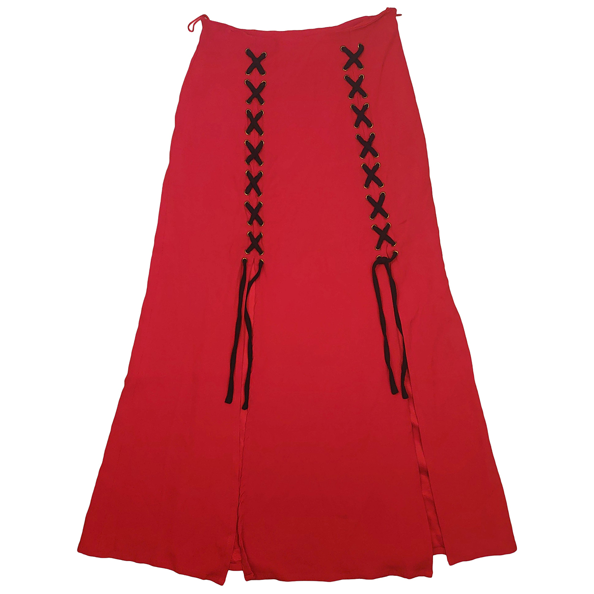 Moschino Cheap And Chic - Jupe   pour femme - rouge