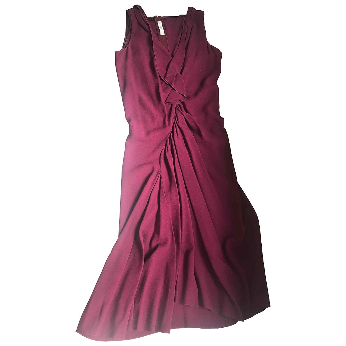Prada - Robe   pour femme - bordeaux