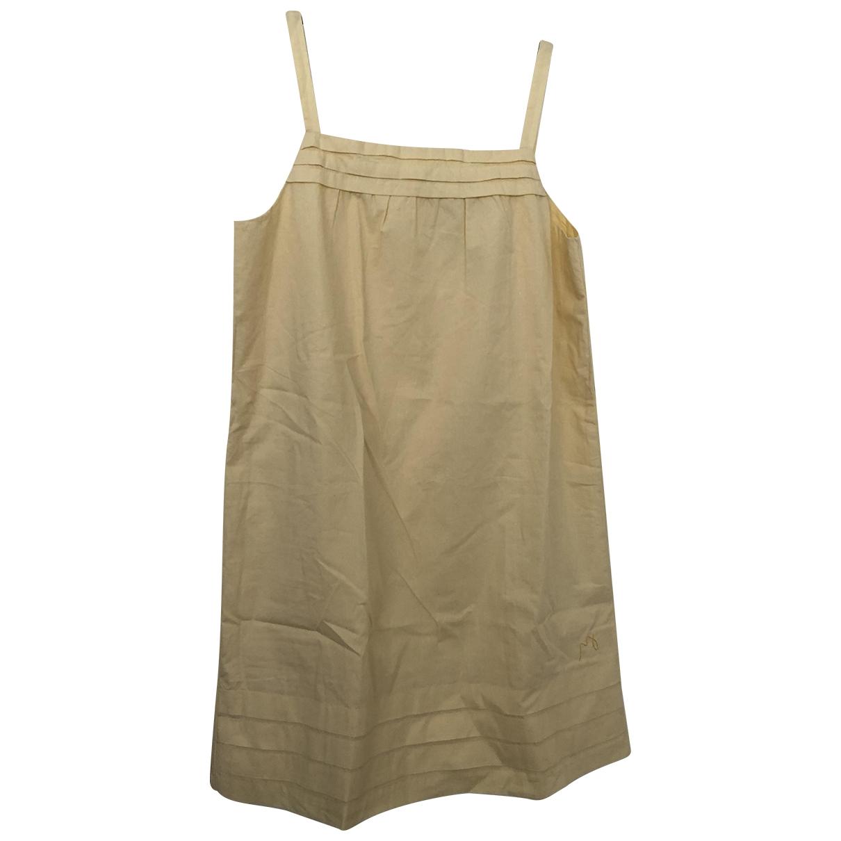 Jacadi \N Kleid in  Gelb Baumwolle