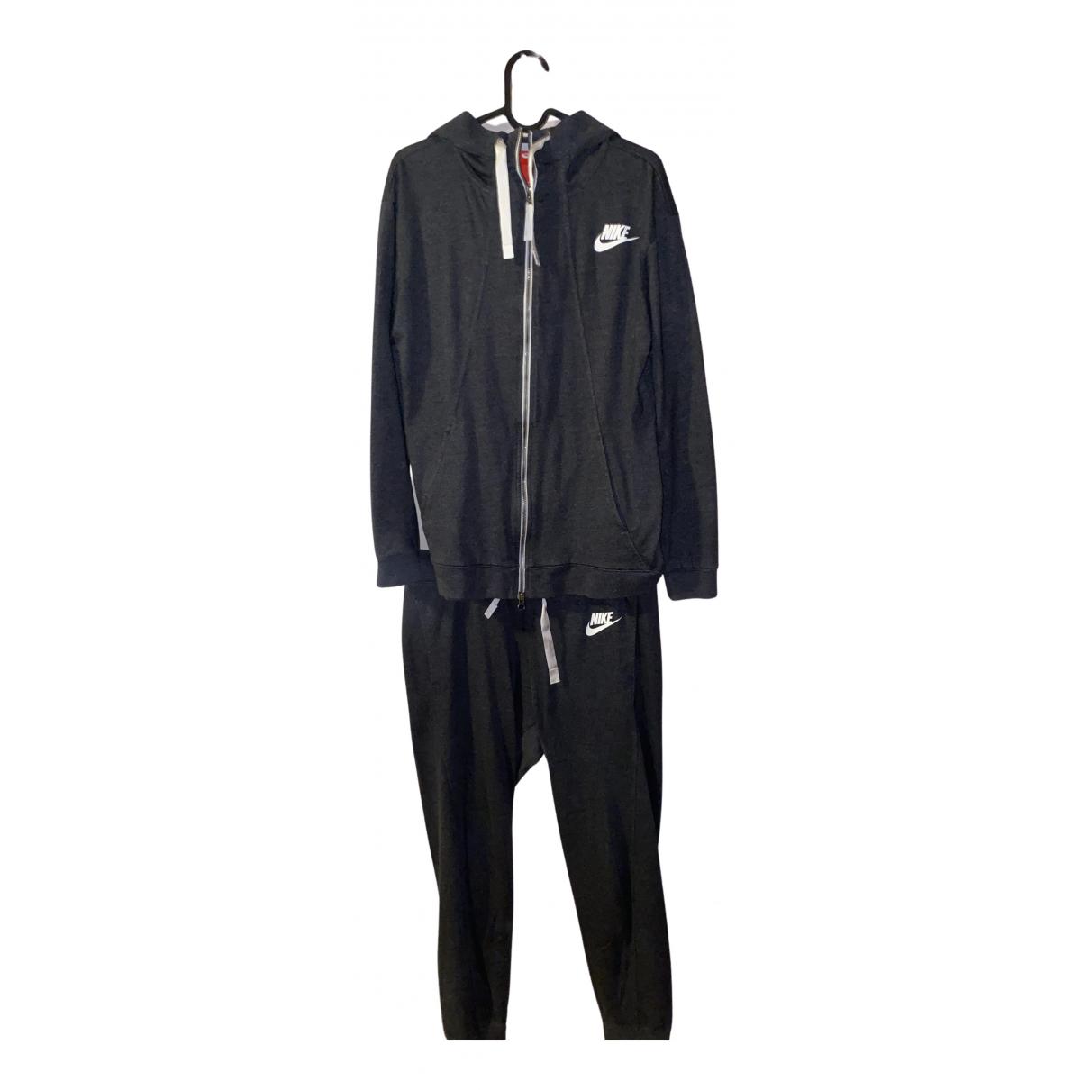 Nike - Combinaison   pour femme en coton - gris