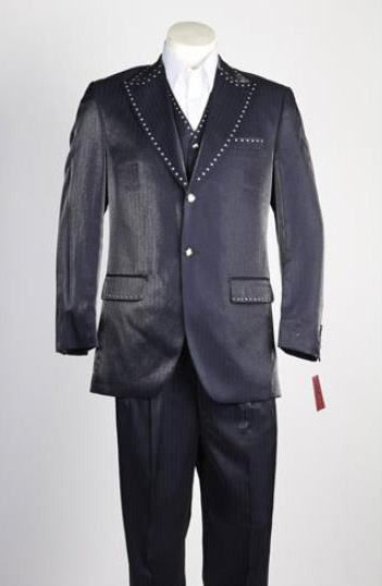 Mens 2 button 2 Piece Single Breasted Suit