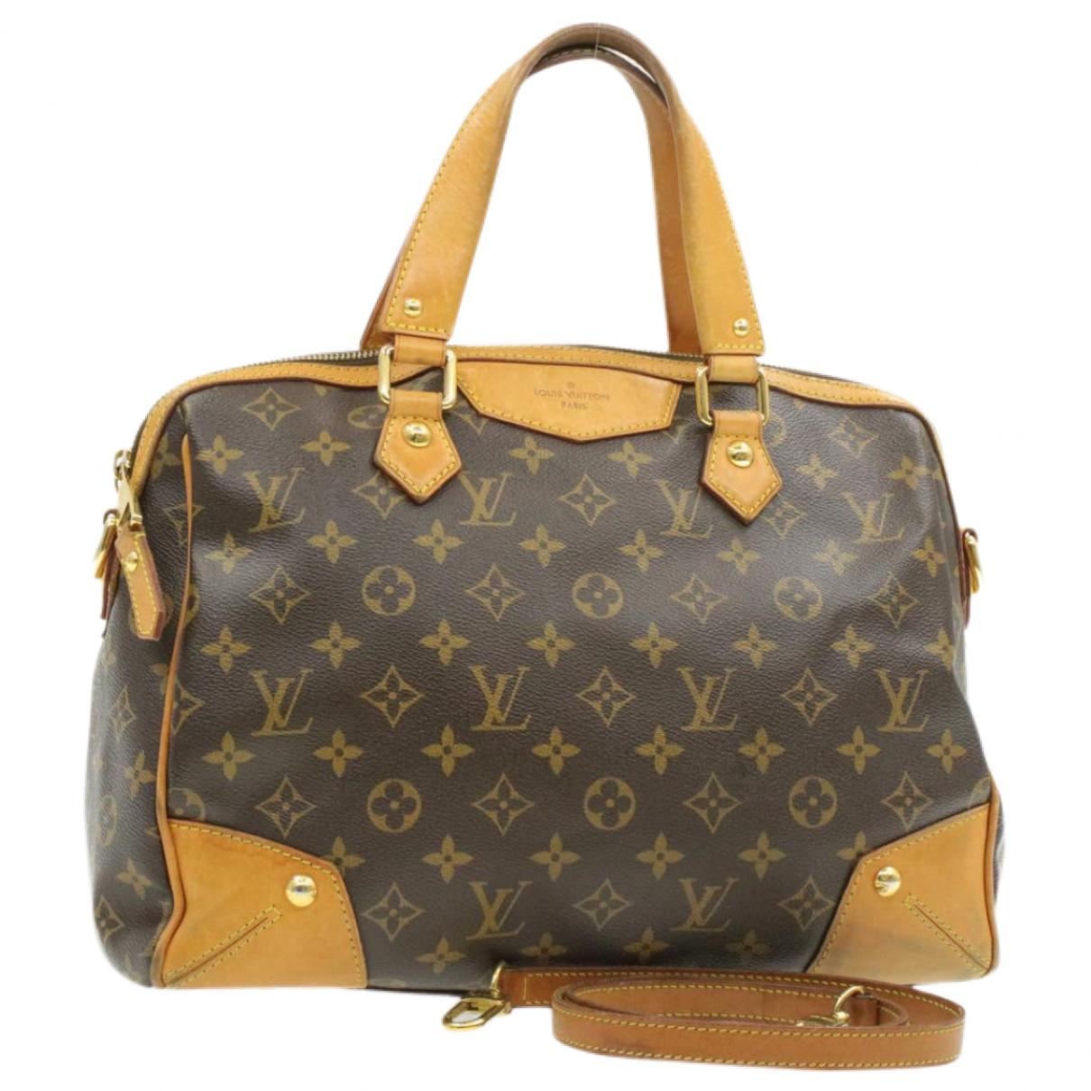 Louis Vuitton Estrela Brown Cloth handbag for Women \N
