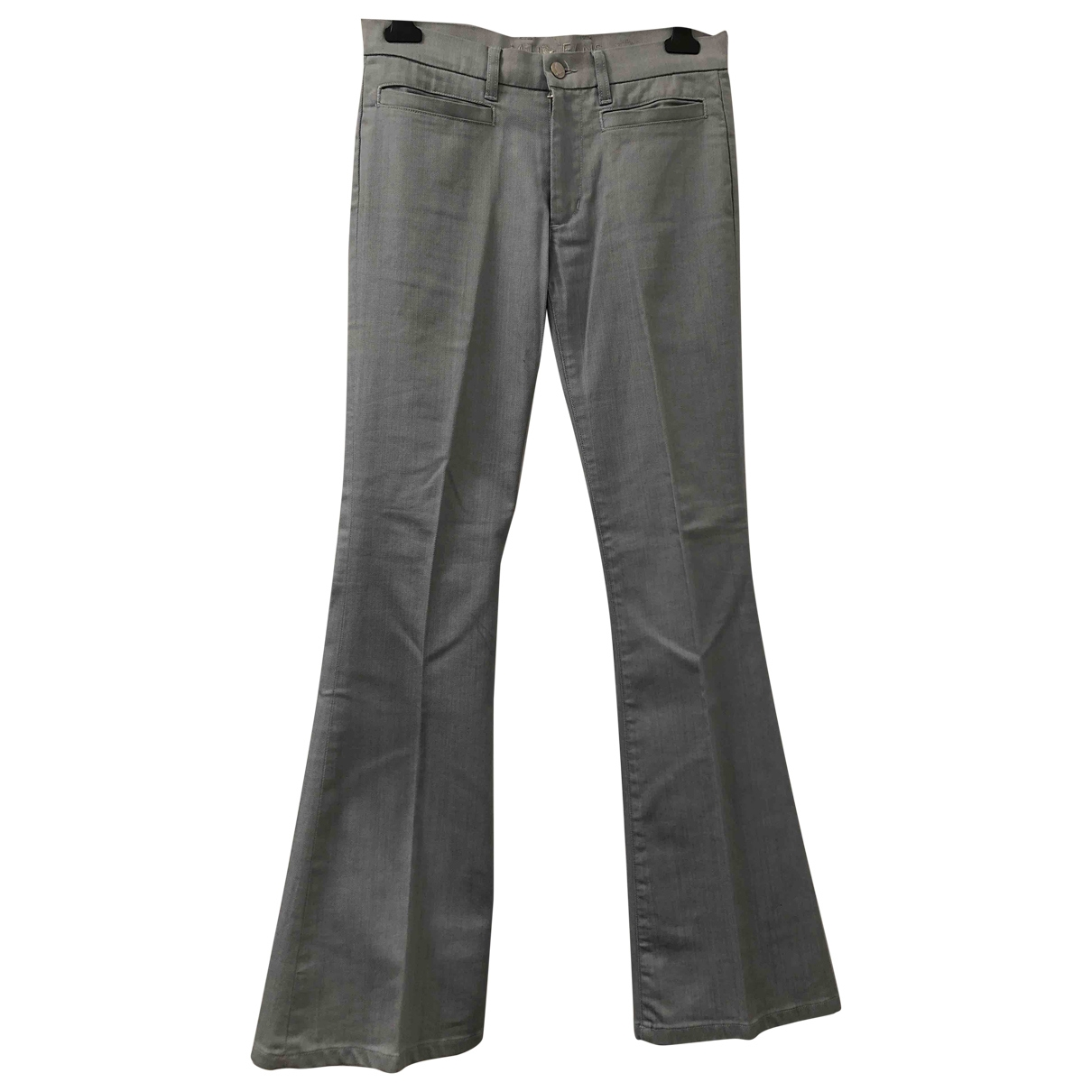 Mih Jeans \N Cotton Trousers for Women 42 IT