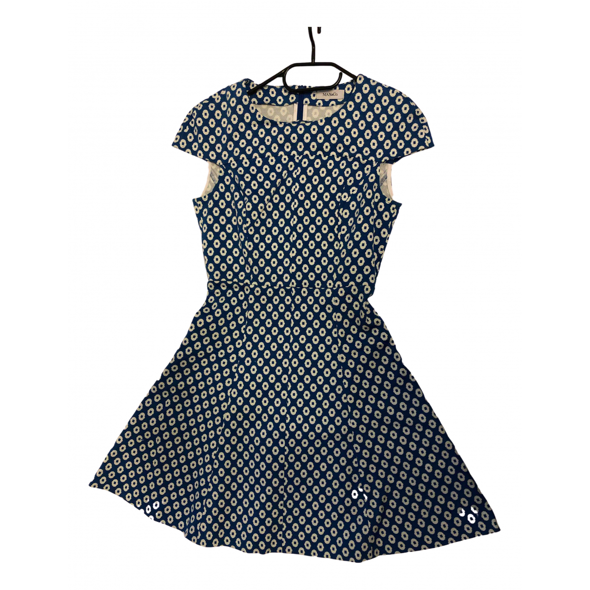 Max & Co N Blue Cotton dress for Women 36 IT