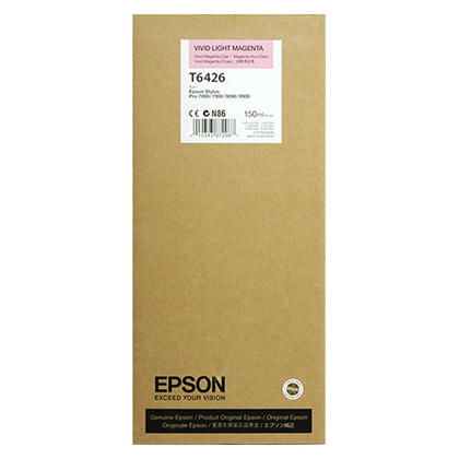 Epson T642600 Original Vivid Light Magenta Ink Cartridge