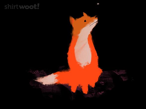 Fox's First Snow T Shirt