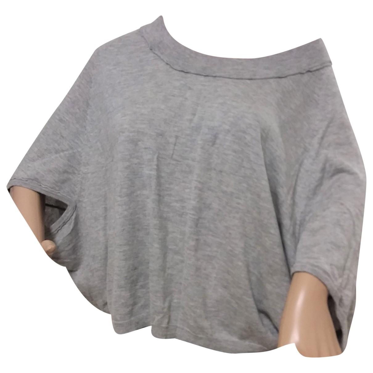 Marc Cain - Pull   pour femme en laine - gris