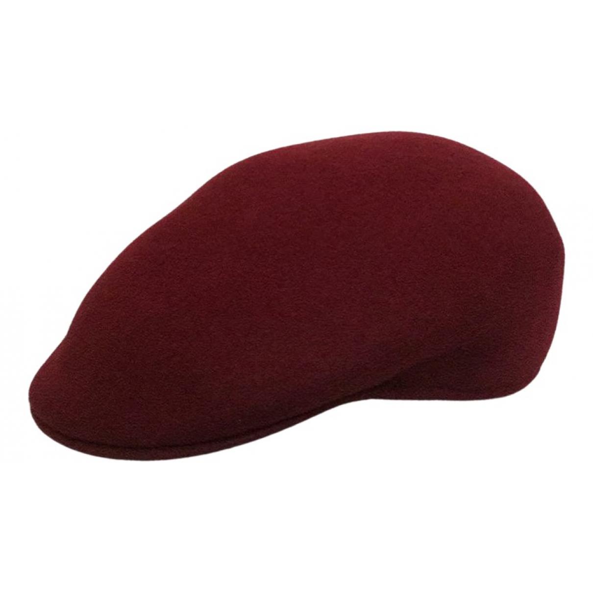 - Chapeau & Bonnets   pour homme en laine - bordeaux