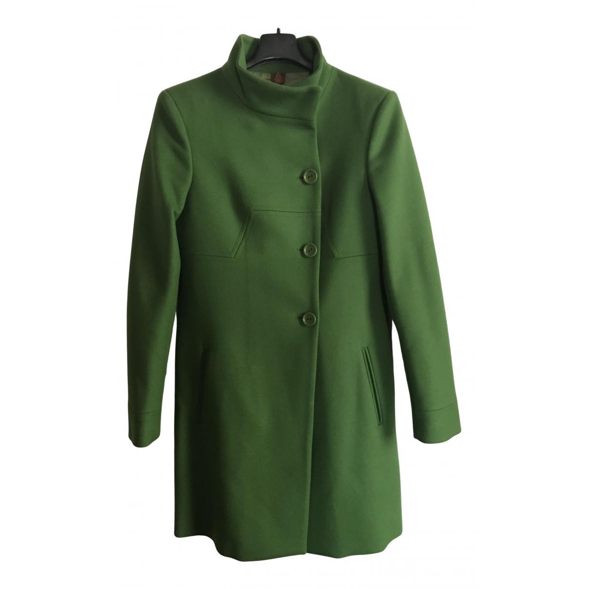 Dondup - Manteau   pour femme en laine - vert