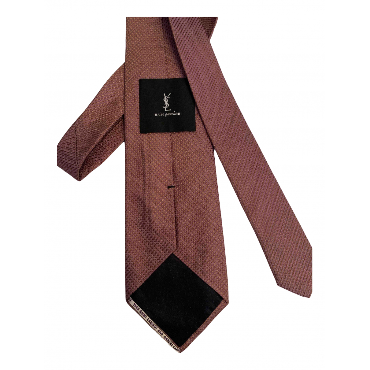 Yves Saint Laurent - Cravates   pour homme en soie - violet