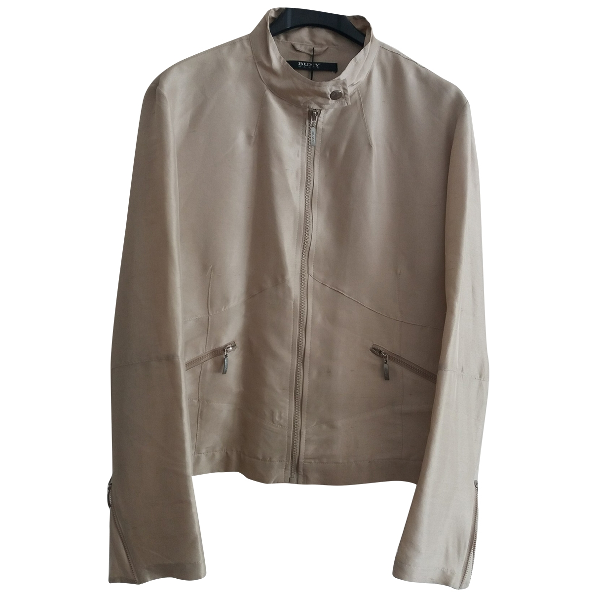 Non Signé / Unsigned \N Silk jacket for Women 38 FR