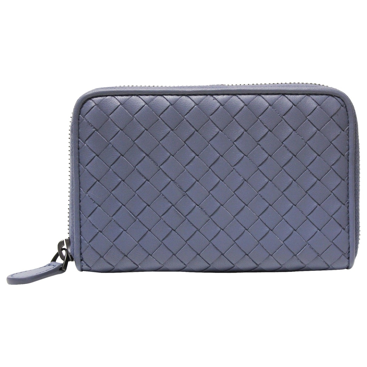 Bottega Veneta \N Blue Leather wallet for Women \N