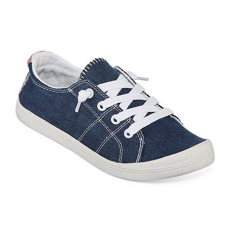 Pop Highbar Womens Sneakers, 5 1/2 Medium, Blue