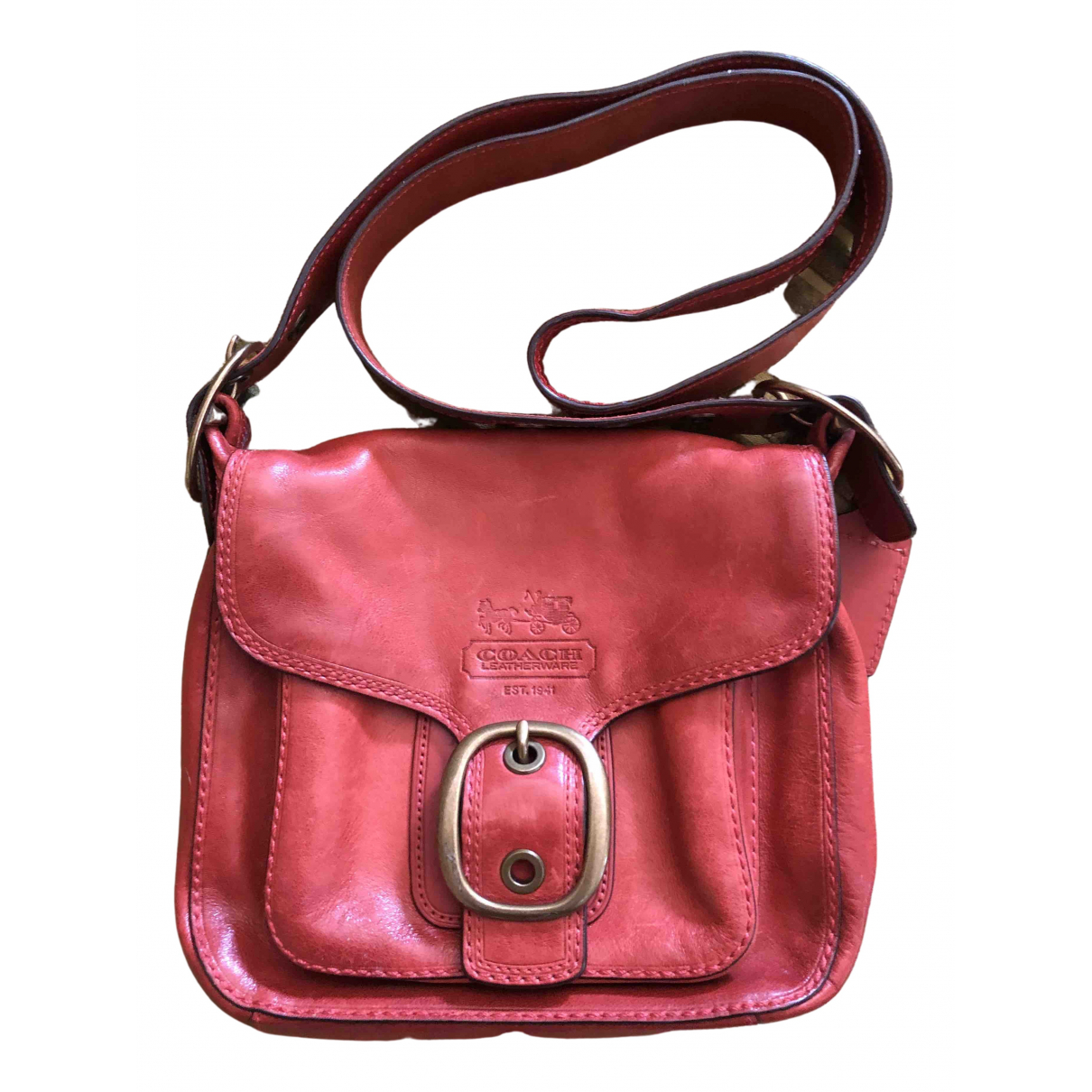 Coach \N Leather handbag for Women \N