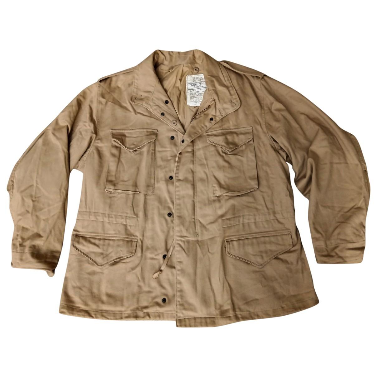 Alpha Industries - Vestes.Blousons   pour homme en coton - beige