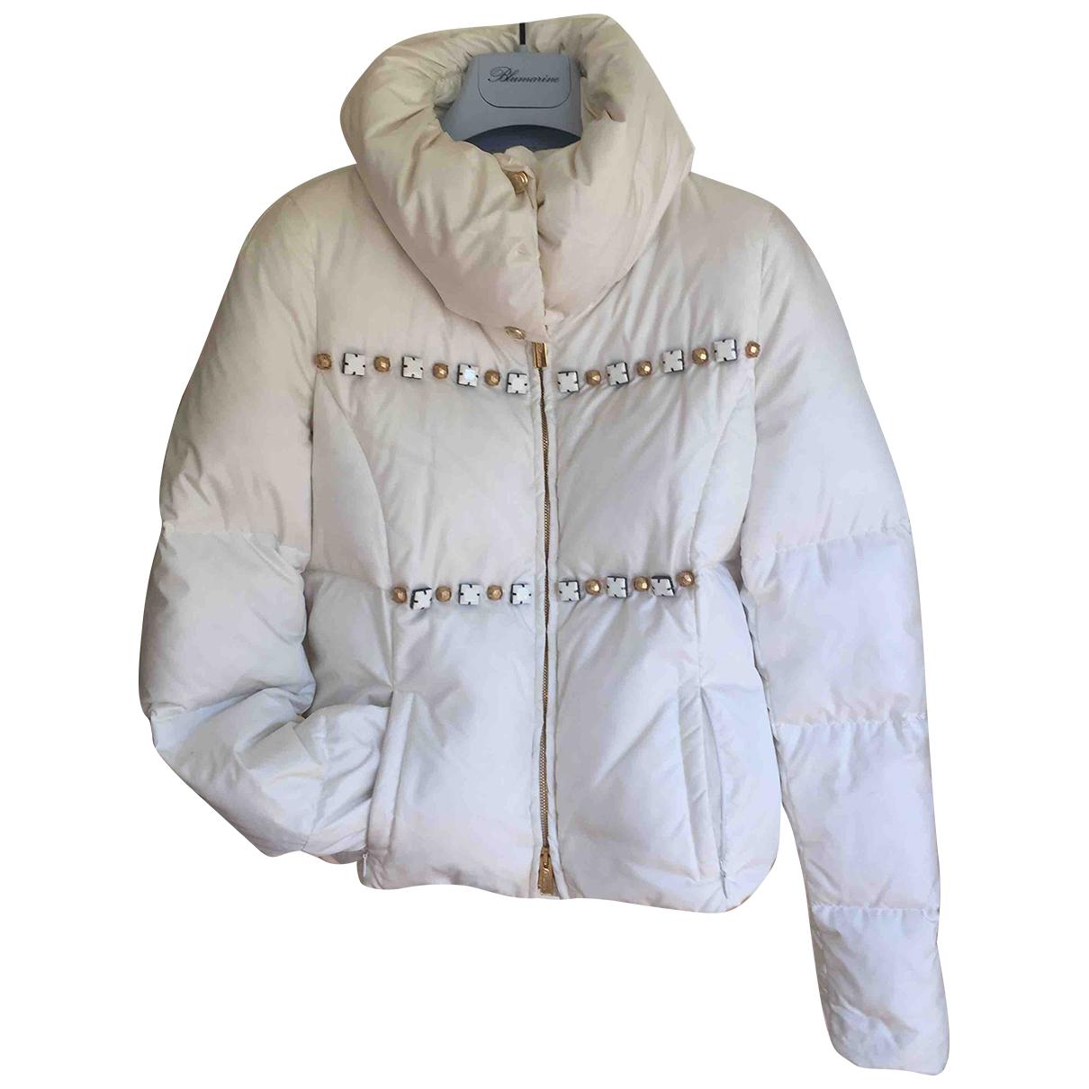 Blumarine N White jacket for Women 38 IT
