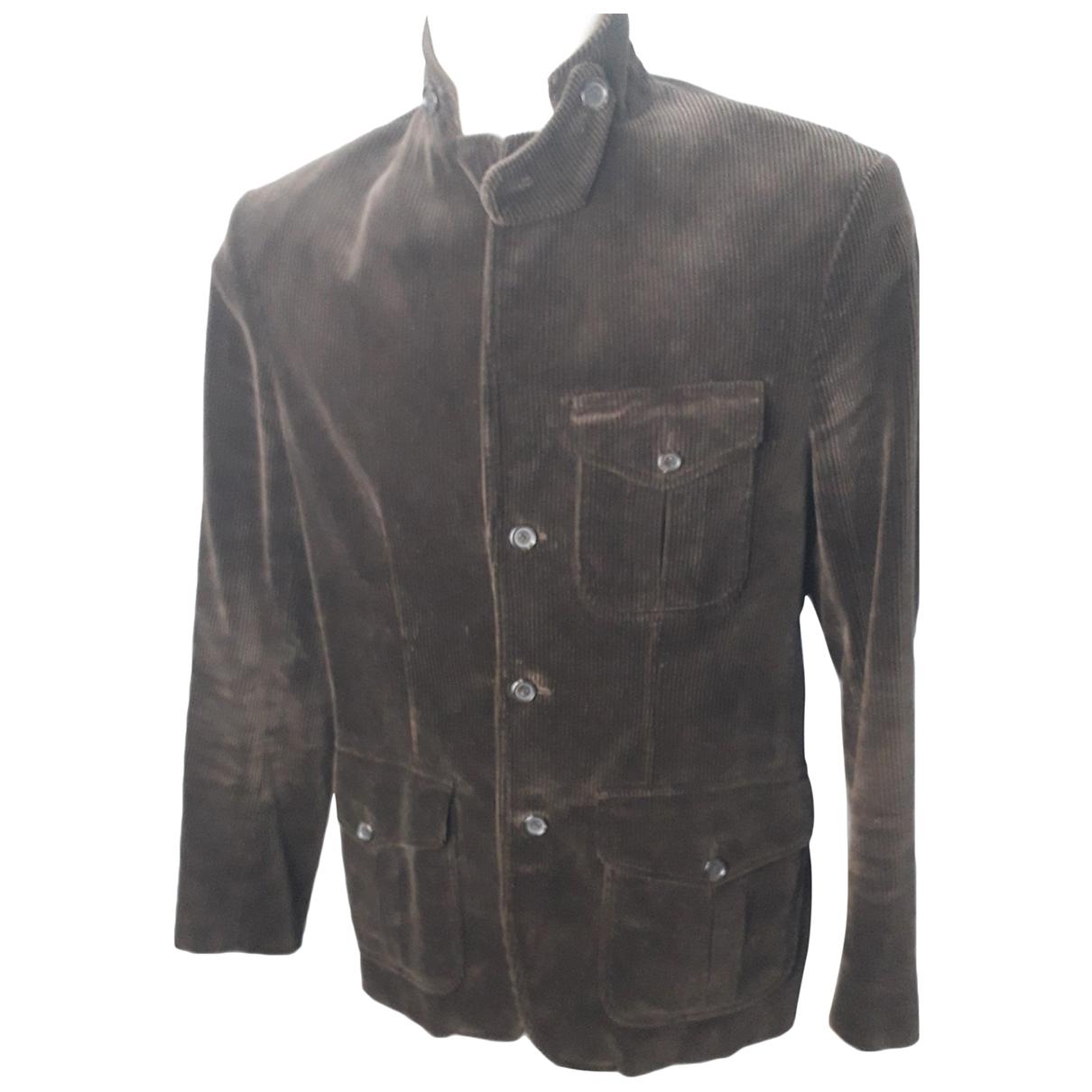 Polo Ralph Lauren \N Brown Cotton jacket  for Men M International