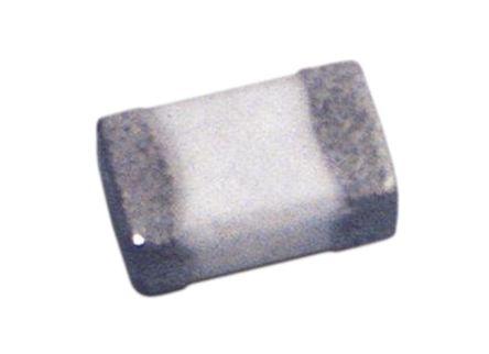 Wurth Elektronik Wurth WE-MK Series 3.3 nH Ceramic Multilayer SMD Inductor, 0402 (1005M) Case, SRF: 6GHz Q: 8 300mA dc 190mΩ Rdc (25)