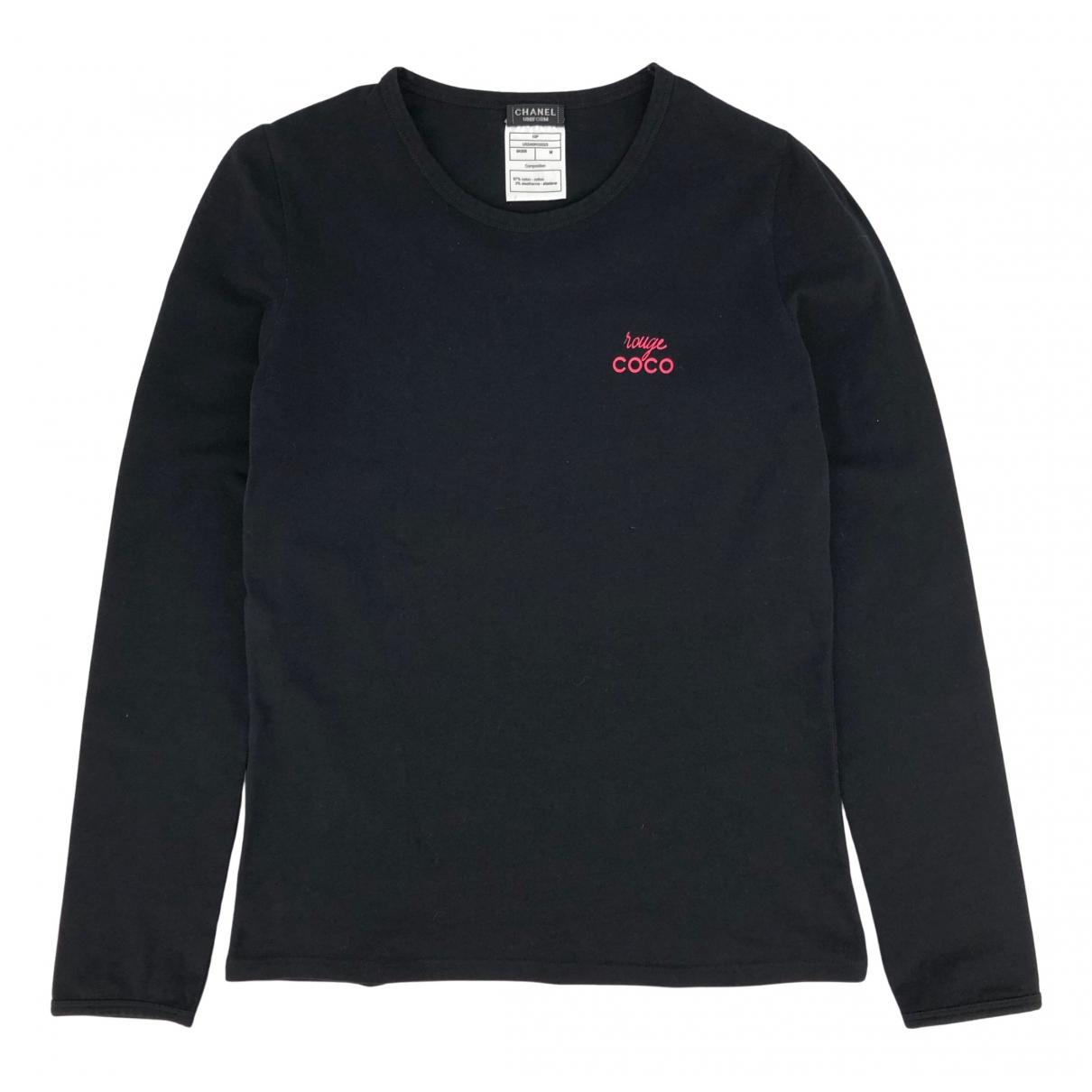 Chanel \N Black Cotton  top for Women M International