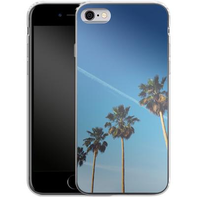 Apple iPhone 6 Silikon Handyhuelle - Palm Tree Paradise von Omid Scheybani