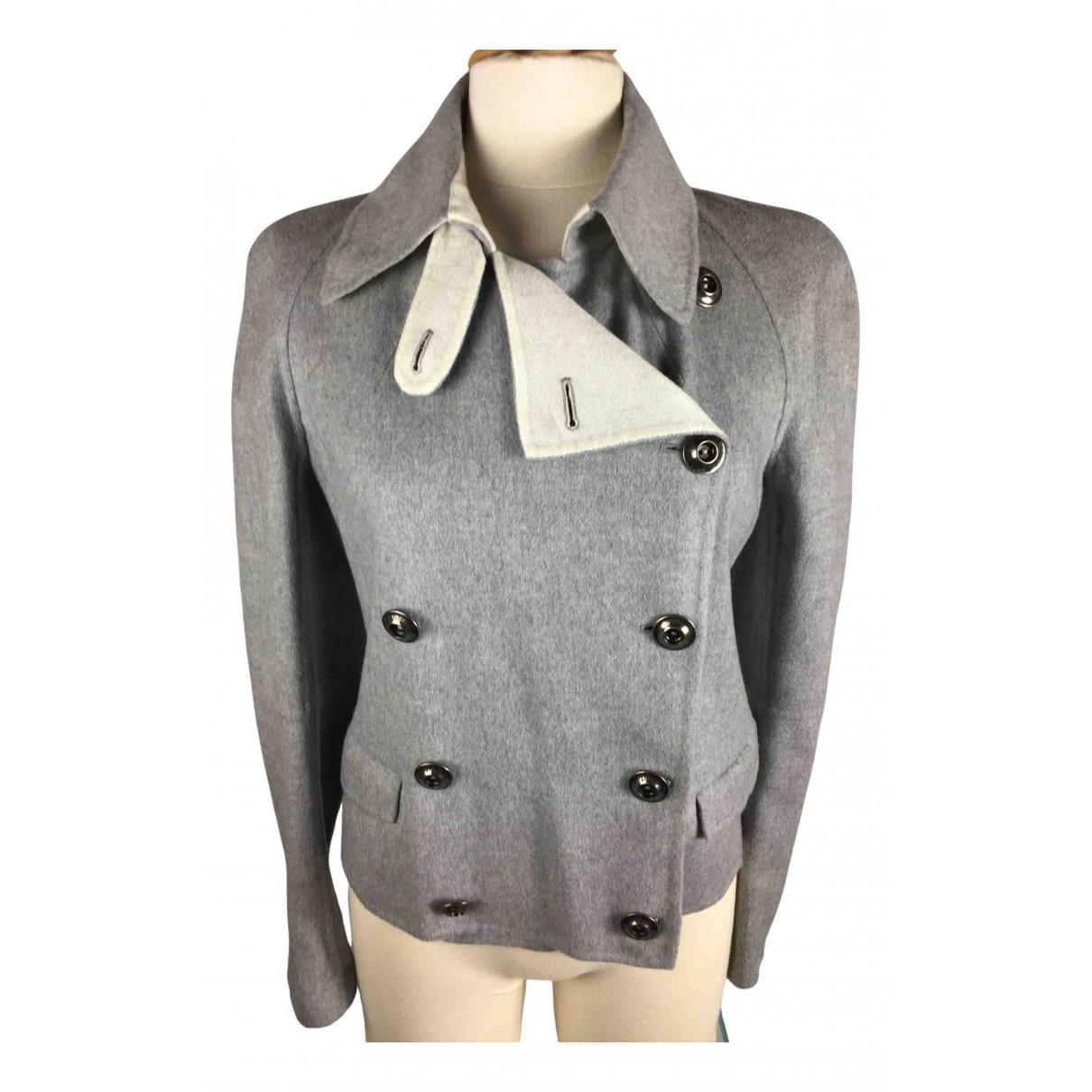 Dior - Veste   pour femme en cachemire - gris