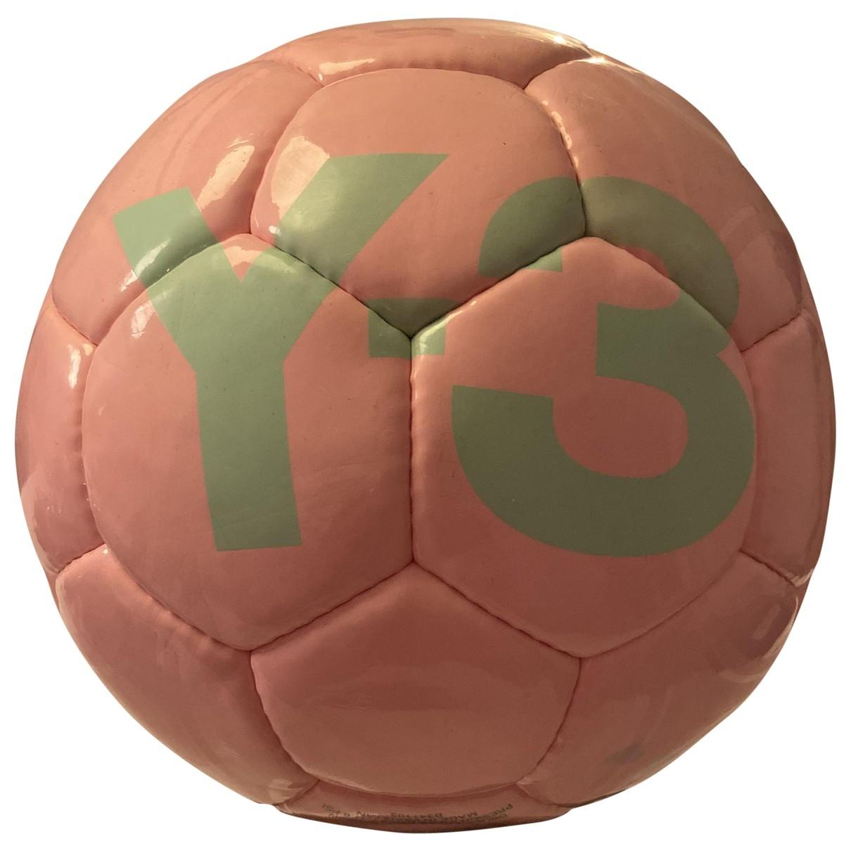 Y-3 - Ballons   pour lifestyle en cuir - rose