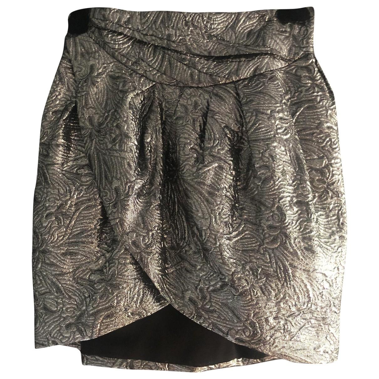 Isabel Marant Pour H&m - Jupe   pour femme - argente