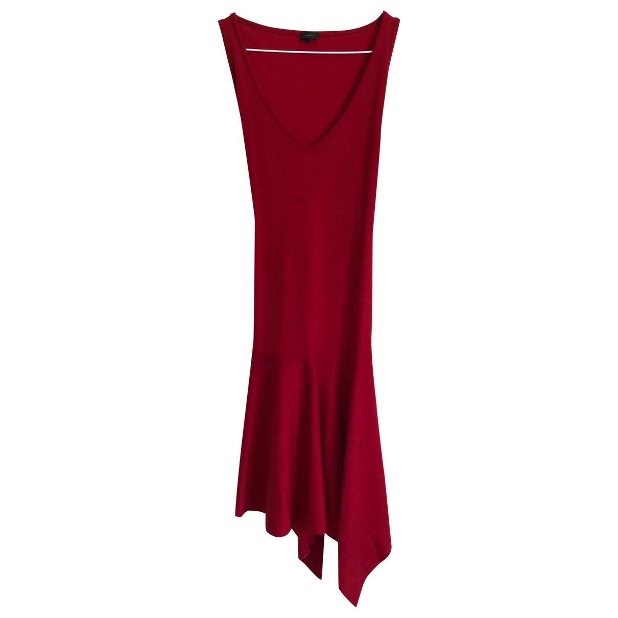 Joseph \N Red Wool dress for Women 38 FR