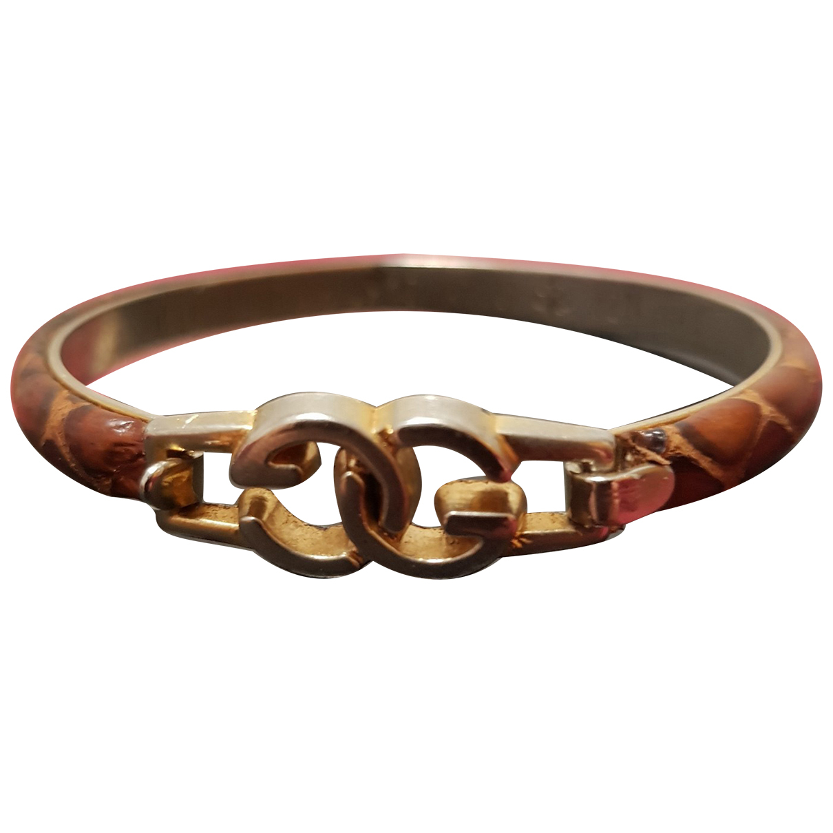 Gucci \N Brown Gold plated bracelet for Women \N