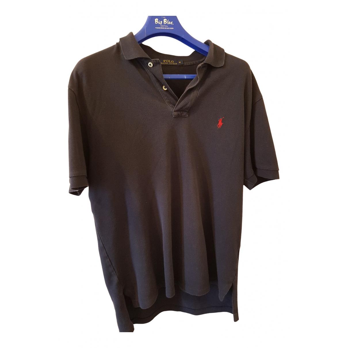 Polo Ralph Lauren Polo classique manches courtes Poloshirts in  Marine Baumwolle