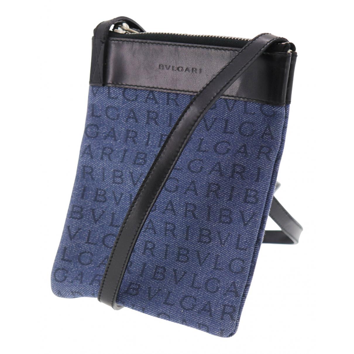 Bvlgari \N Blue Cloth handbag for Women \N
