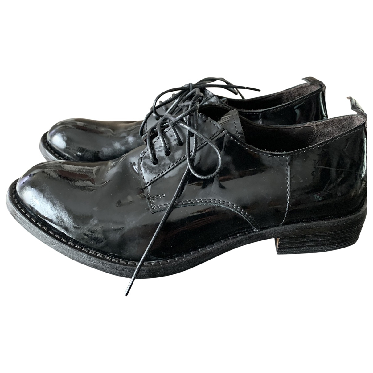 Moma \N Leather Lace ups for Women 36 IT