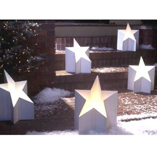 Woodworking Project Paper Plan to Build All-Star Luminaria
