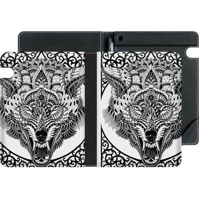 Amazon Kindle Voyage eBook Reader Huelle - Wolf Head von BIOWORKZ
