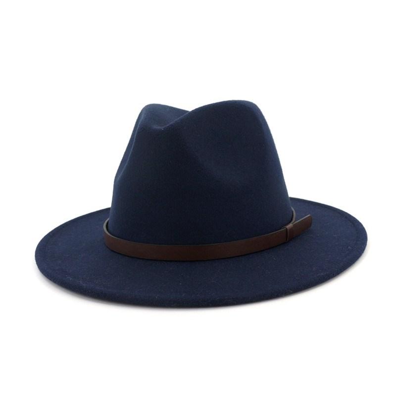 Ericdress Wool Blends Plain Hats