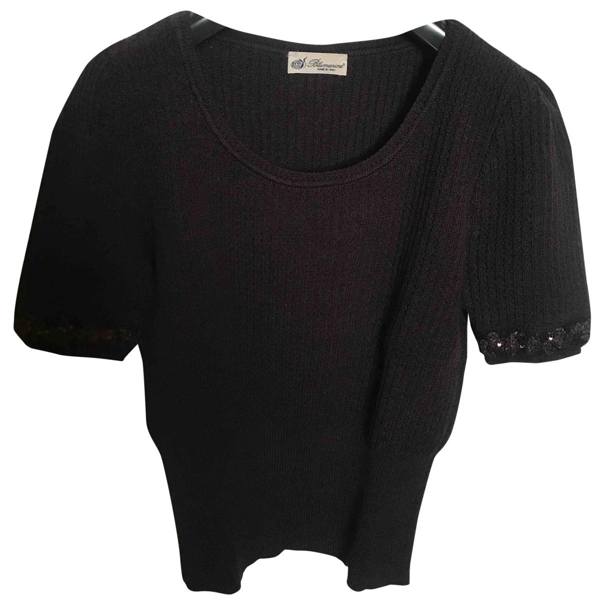 Blumarine \N Pullover in  Braun Wolle