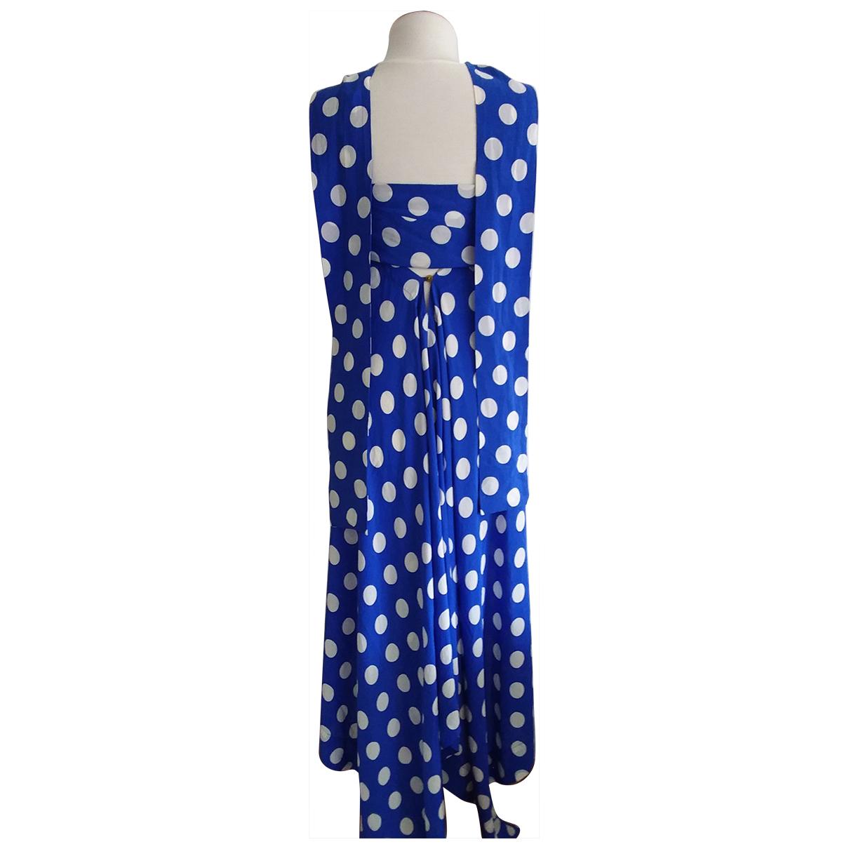 Vivienne Westwood Red Label \N Kleid in  Blau Seide