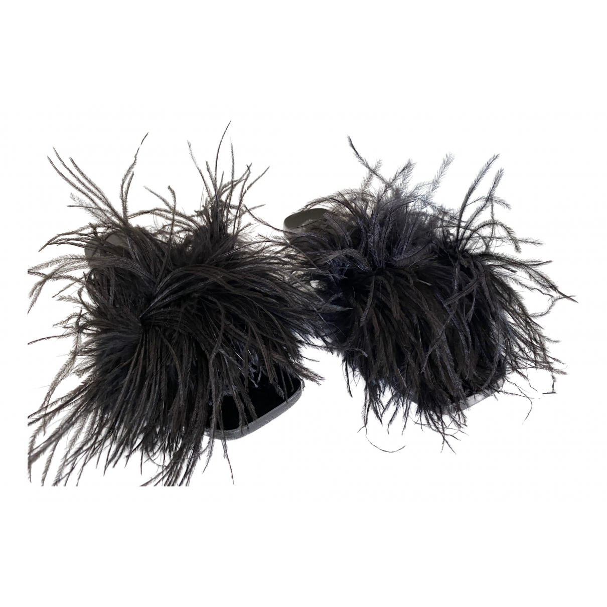 Atp Atelier \N Black Leather Sandals for Women 37 EU